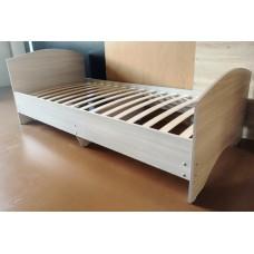 Кровать с ортопедическим основанием с 2мя спинками