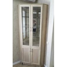 Шкаф - витрина угловой
