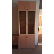 Шкаф для бумаг со стеклом