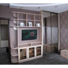 Шкаф - купе встроенный, в спальне