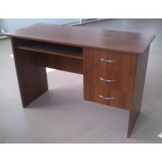 Стол письменный с подвесной тумбой (ящики)