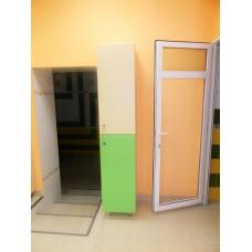 Шкаф раздевальный 2-х секционный